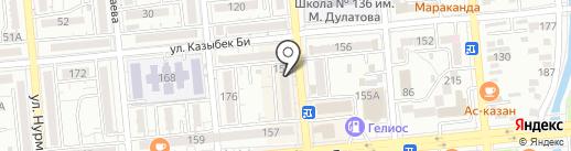 Crystal Talent Appraisal на карте Алматы