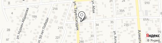 Умэт на карте Туймебаевой
