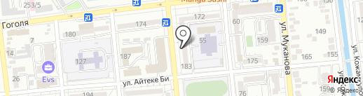Катрис-Дизайн на карте Алматы