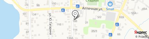 Вика на карте Туймебаевой