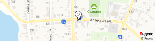 Диана на карте Туймебаевой