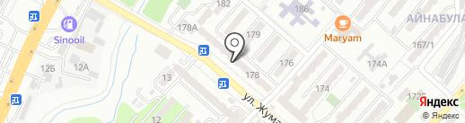 Дархан, овощной магазин на карте Алматы