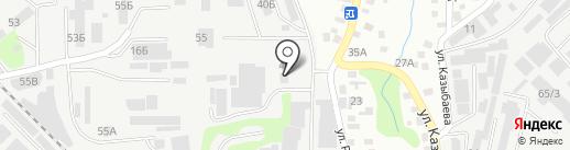 Банкомат, АТФ Банк на карте Алматы