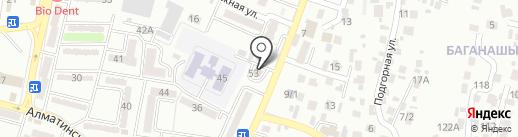 Консульство Республики Либерии в г. Алматы на карте Алматы