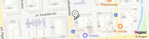 Ли-Ли-Зо на карте Алматы