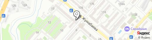 Лилия на карте Алматы
