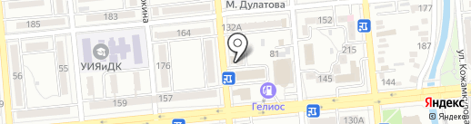 Нотариус Базоркина З.Г. на карте Алматы