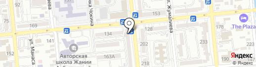 Как дома на карте Алматы