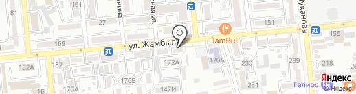 Гепард финанс Ломбард, ТОО на карте Алматы