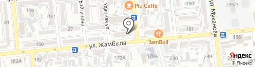 Грин Вальд на карте Алматы