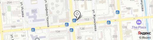 Стоматологическая клиника доктора Феклистовой на карте Алматы