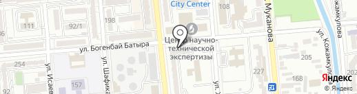 Аннабель на карте Алматы