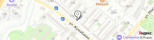 Казына на карте Алматы