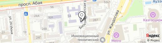 Детская музыкальная школа №5 им. Мукана Тулебаева на карте Алматы