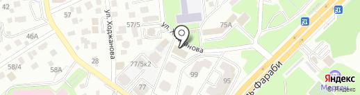 Avrora на карте Алматы