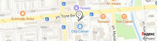 Бутик сотовых телефонов и аксессуаров на карте Алматы