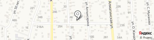 Шапагат на карте Туймебаевой