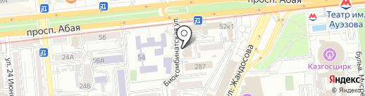 КАЗКОММЕРЦ-LIFE на карте Алматы