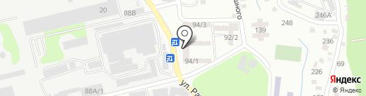 Продуктовый магазин Садовцев В.А. на карте Алматы