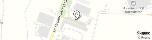 НеКо на карте Алматы