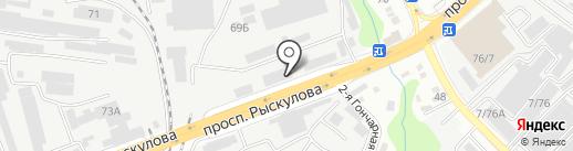 TERRA-CHEMIE на карте Алматы