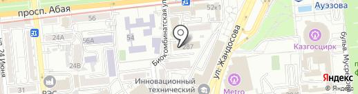 Институт судебной экспертизы г. Алматы на карте Алматы