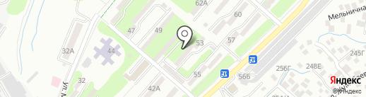 Самир, продуктовый магазин на карте Алматы