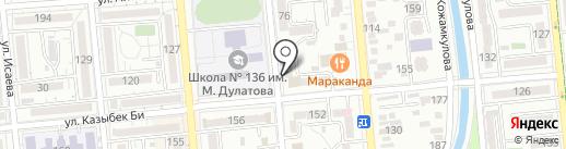 Gulniza на карте Алматы