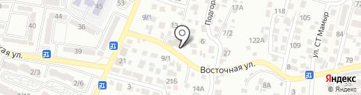 Курсив на карте Алматы