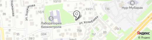 ТиБеТи на карте Алматы