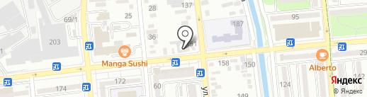 Таттi на карте Алматы