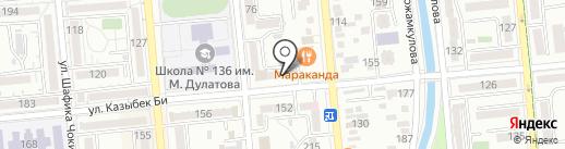 Олжа, продуктовый магазин Нуржанов Р. на карте Алматы