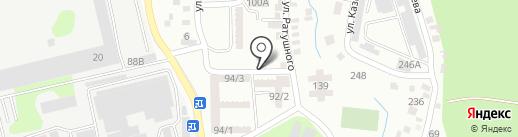 Апашка, продуктовый магазин на карте Алматы