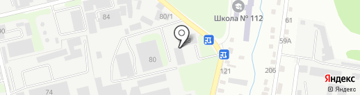 Строй сити на карте Алматы