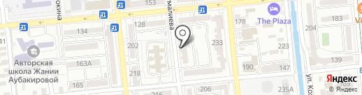 Максаймандары на карте Алматы