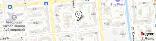 Сама tex, ТОО на карте Алматы