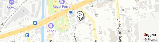Perekucity Almaty на карте Алматы