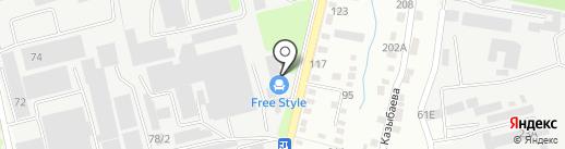 Саламат на карте Алматы