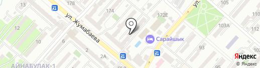 Канаш на карте Алматы