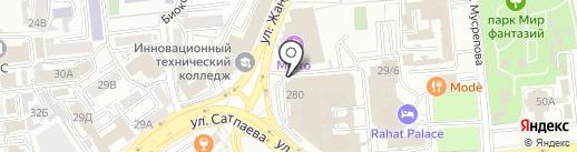 KazContruct, ТОО на карте Алматы