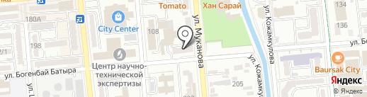 Республиканская научно-техническая библиотека на карте Алматы