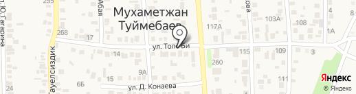 Рахат на карте Туймебаевой
