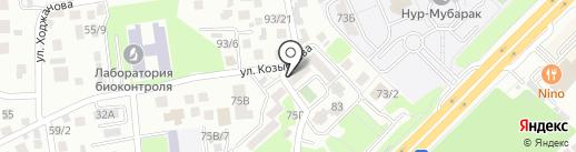 Алиар-Фарм, ТОО на карте Алматы