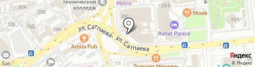 TENDER FIRST на карте Алматы