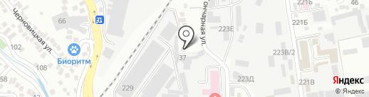 OTAU на карте Алматы