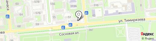 Нотариус Бержанова З.Б. на карте Алматы