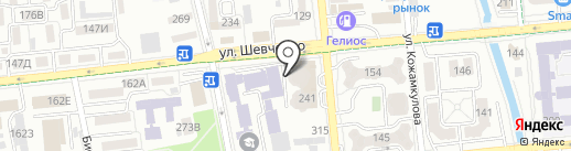 СrossFit Laboratory на карте Алматы