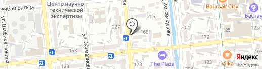 Ruaz-Dent на карте Алматы