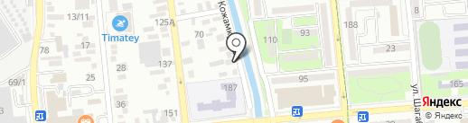 Багетная мастерская на карте Алматы