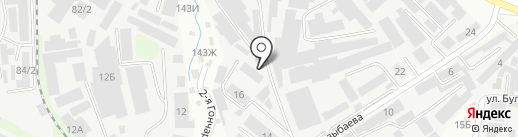 ГорОкна на карте Алматы